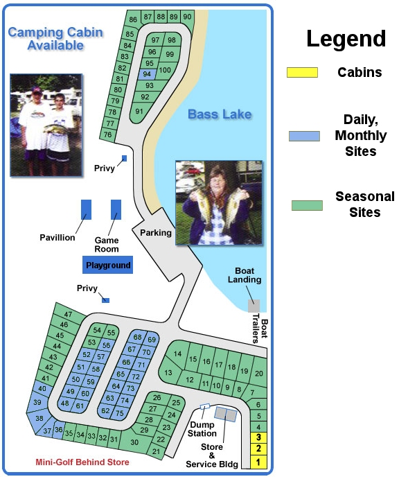 Rockeys Site Map